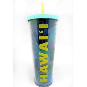 HAWAII Starbucks Venti Tumbler with straw